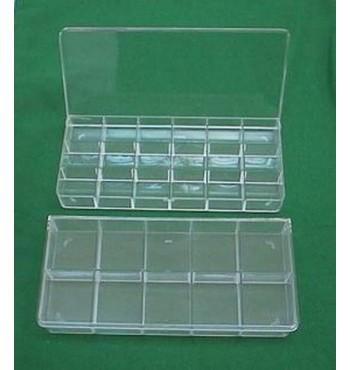 SB004 Transparent box of 10 compartments