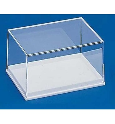 BB028 - Transparent box with white base 84x56x43 mm