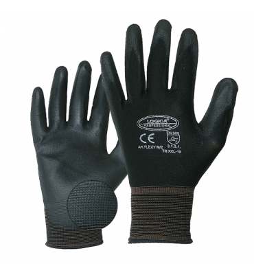 Polyurethane and mesh gloves - size 8