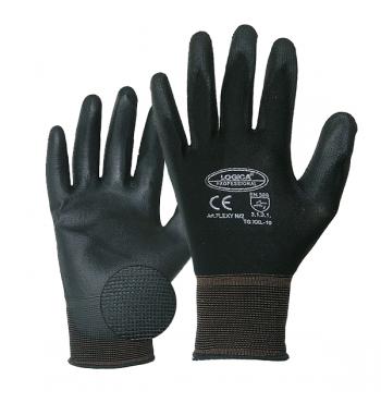 Polyurethane and mesh gloves - size 9