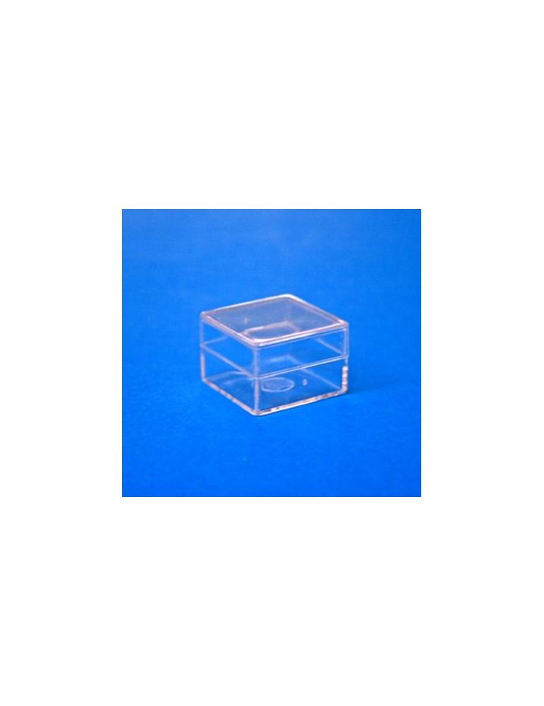 Scatola trasparente mm 18x18x8
