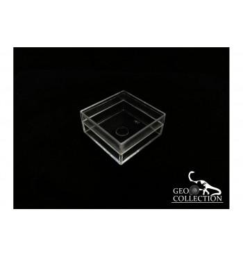 Scatola trasparente mm 42x42x19