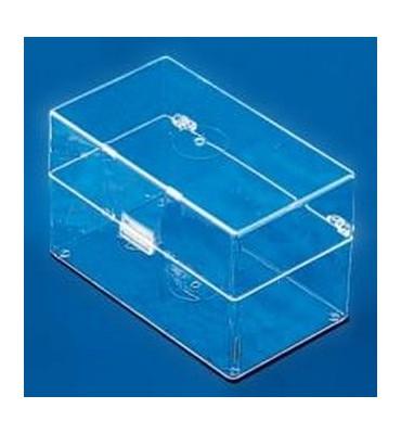TR042 Transparent rectangular box mm 92x58x57
