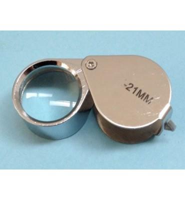 LT151 lente tascabile rotonda ø 21 ingrandimento 10x