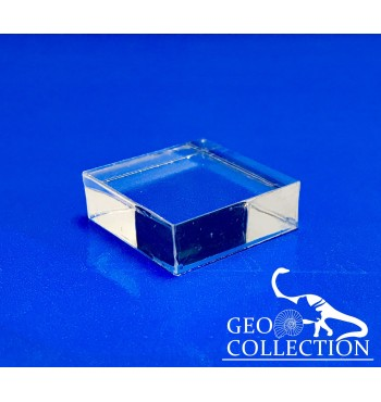 Base acrilico trasparente mm 30x30x20