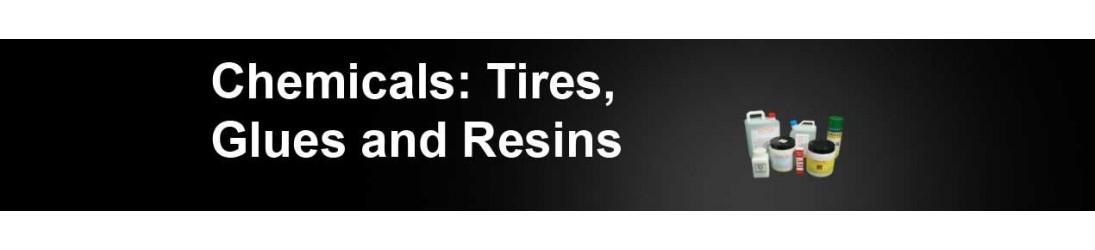 Prodotti chimici: Gomme, Colle e Resine.